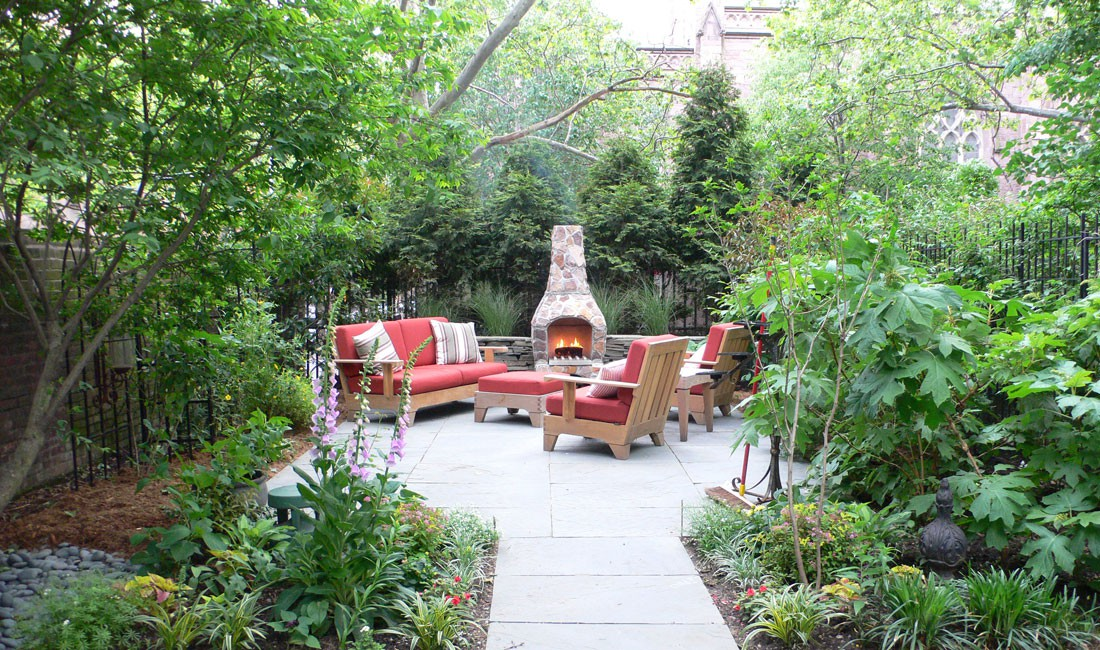 The artist garden landscape garden design services for Garden design brooklyn