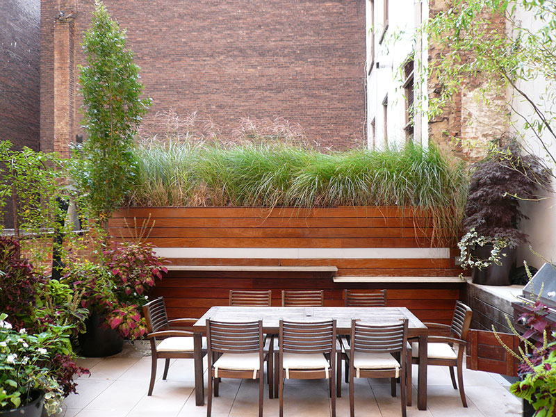 Tribeca terrace new york - Jardin terrasse new york ...