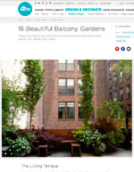 HGTV 16 Beautiful Balcony Gardens